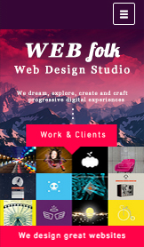 Byrå website templates – Studio for webdesign