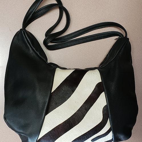 Zebra Leather Bag