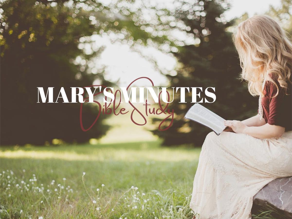 Mary's Minutes