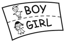 Pick gender and age range of child