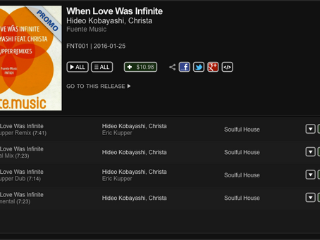 'When Love Was Infinite' Promo Release Out Today on Traxsouce