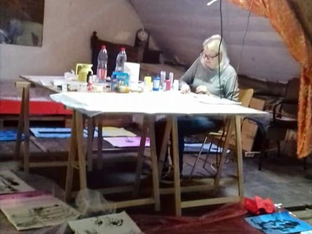 Embracing Portability During My Residency at Atelier Melusine in France on 20-27 October 2019