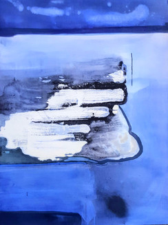 Storm Approaching_2020_Marion Flanagan_Acrylic and oil paint on canvas_30 in x 40 in_edite