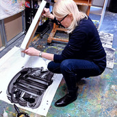 Exploring Monoprinting at The Koppel Project in Soho
