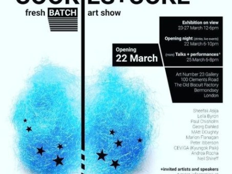 Cookies and Coke Exhibition on 22 March 2019