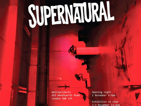 Supernatural exhibition at Wells Projects in London, UK on 1-3 November 2019