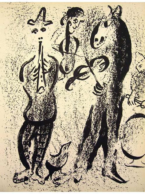 Chagall, Des Saltimbanque