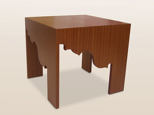 French Curves Side Table