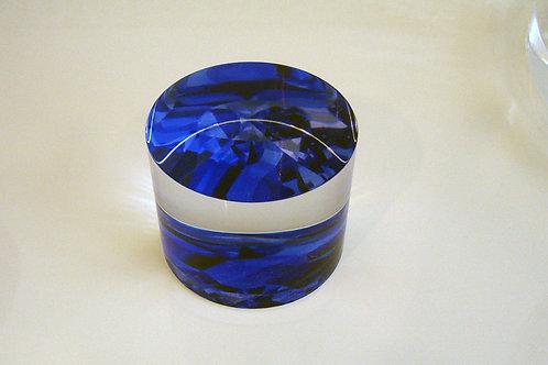 Blue Diamond Lucite Paperweight