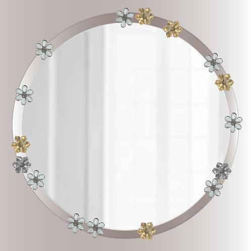 Lucite Flourish Mirror, acrylic mirror