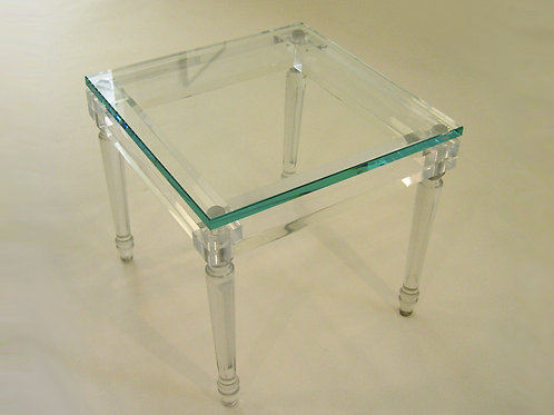 Clearly-Louis Side Table