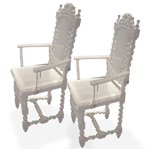 Antique Arm Chairs, Modified