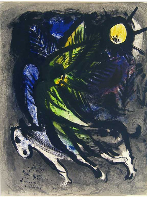 Chagall, La Ange