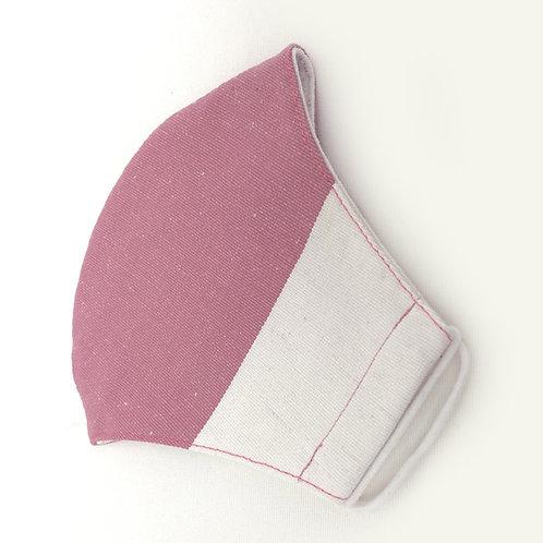Pink/White Mask