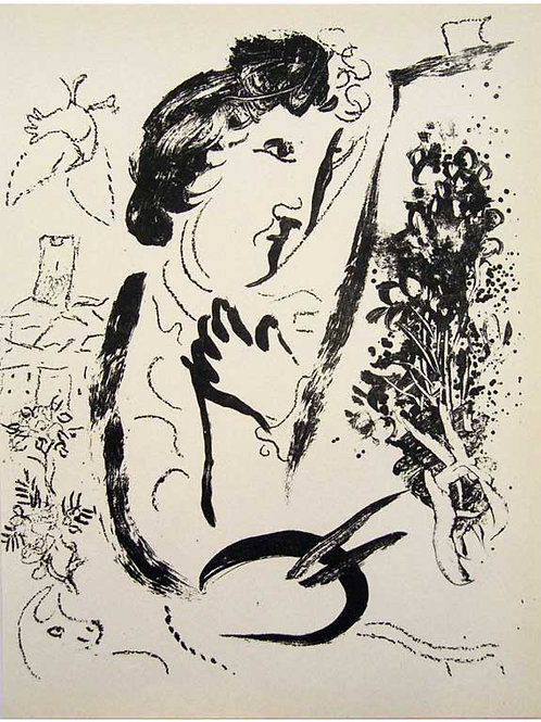 Chagall, In Front of The Picture