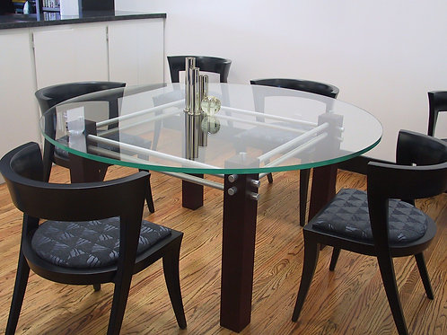 Fire and Ice Dining Table