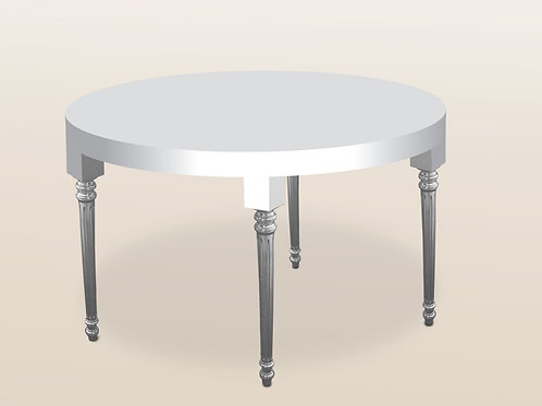 Parsons-Louis Round Dining Table