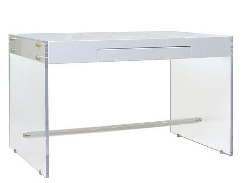 Lucite Desk, Claudia Lucite Desk