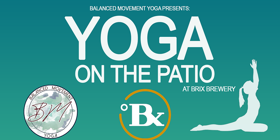 Yoga on the Patio @ Brix Brewery