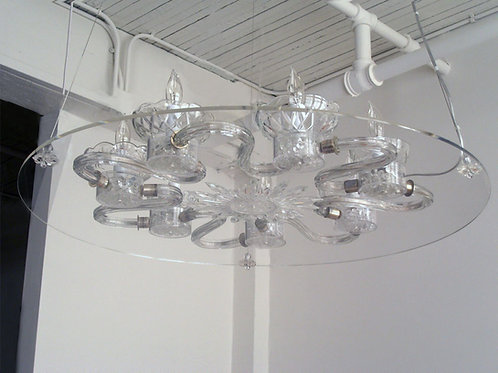 Deconstructed Chandelier