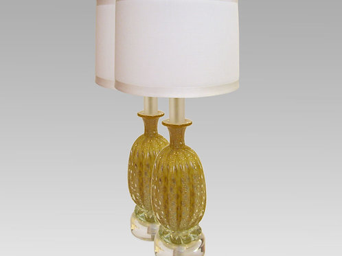 pair of Vintage Murano Table Lamps
