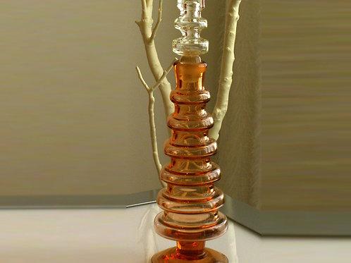 Vintage Bischoff Peach Glass, 0053
