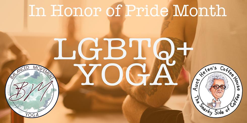 LGBTQ+ Yoga & Smoothies