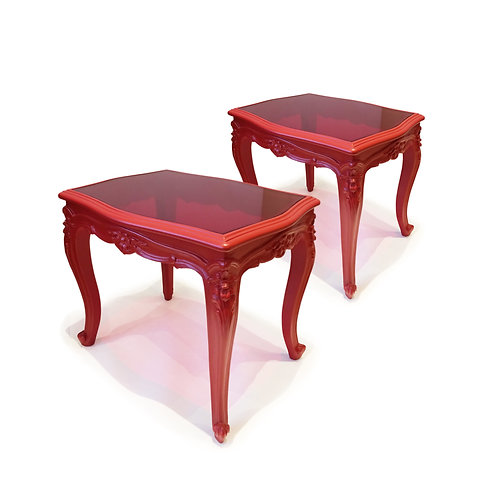 Narcissus Side Tables, Pair