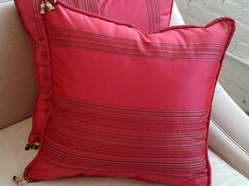 Pair of Fuchsia Pillows