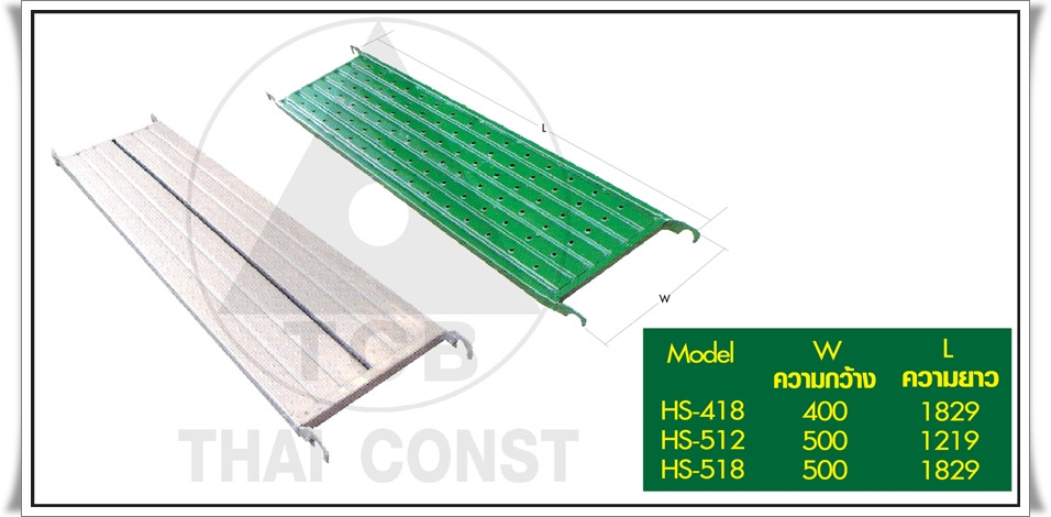 walkingpanel HS-418/HS-512/HS-518