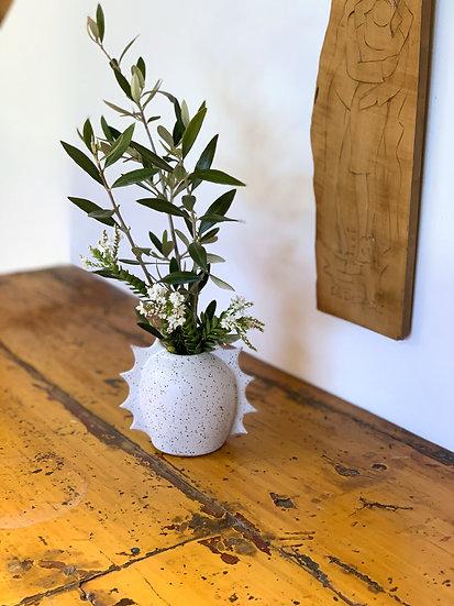 Frilled Bud Vase