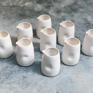Dimpled Beakers