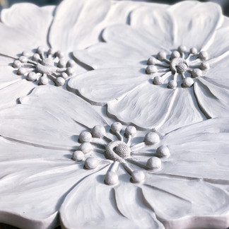 Porcelain table top drying