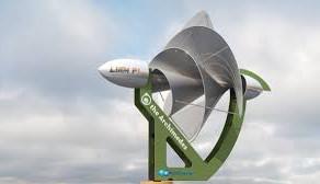 El aerogenerador urbano de 1000 molinos eólicos de eje vertical para la ciudad de Valencia