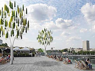 El árbol del viento. Turbinas silenciosas para ciudades