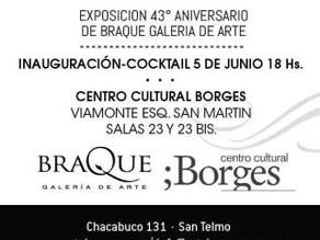 Exposición de Tati Porverbio en Centro Cultural Borges