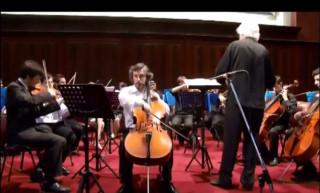 Fantasía para Violoncello y Orquesta de Juan Carlos Figueiras
