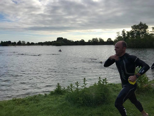 My first open water Triathlon