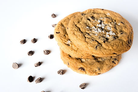 Bakes by Lo Chocolate Chip Flaky Sea Salt Cookie