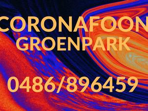 Actieplan Groenpark / Solidariteit 31/5 – CORONAFOON