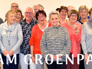 Nieuwjaarsboodschap team Groenpark
