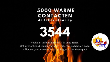 5000 Warme Contacten - Creatief met corona