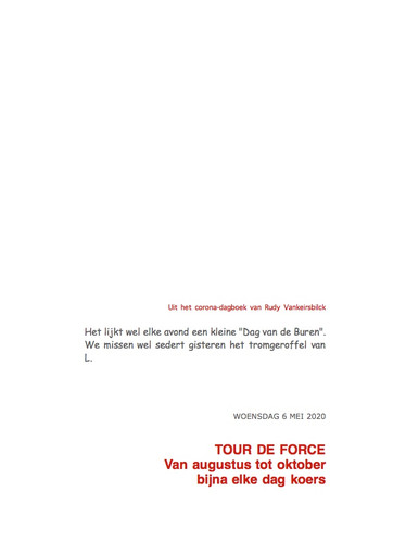 GEDACHTENBUNDEL - GROENPARK-20  /  32