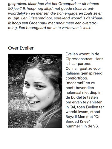 Wat was. Wat is. Wat komen kan. 19/2 - EVELIEN DHULST 6
