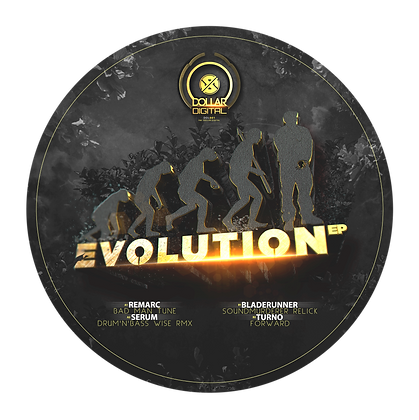 EVOLUTION EP PICTURE VINYL LIMITED 200 COPYS