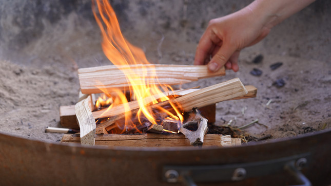 Learn about laying fire...