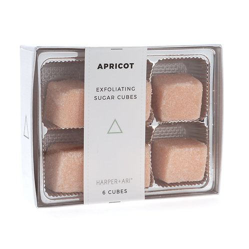 APRICOT-HARPER+ARI SUGAR SCRUB CUBES