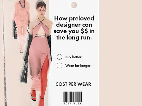 HOW A PRELOVED DESIGNER ITEM CAN SAVE YOU MONEY IN THE LONG RUN: UNDERSTANDING COST PER WEAR