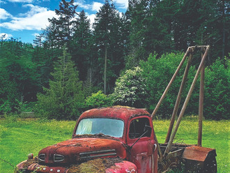 Another old-timer retires to Pender Island…