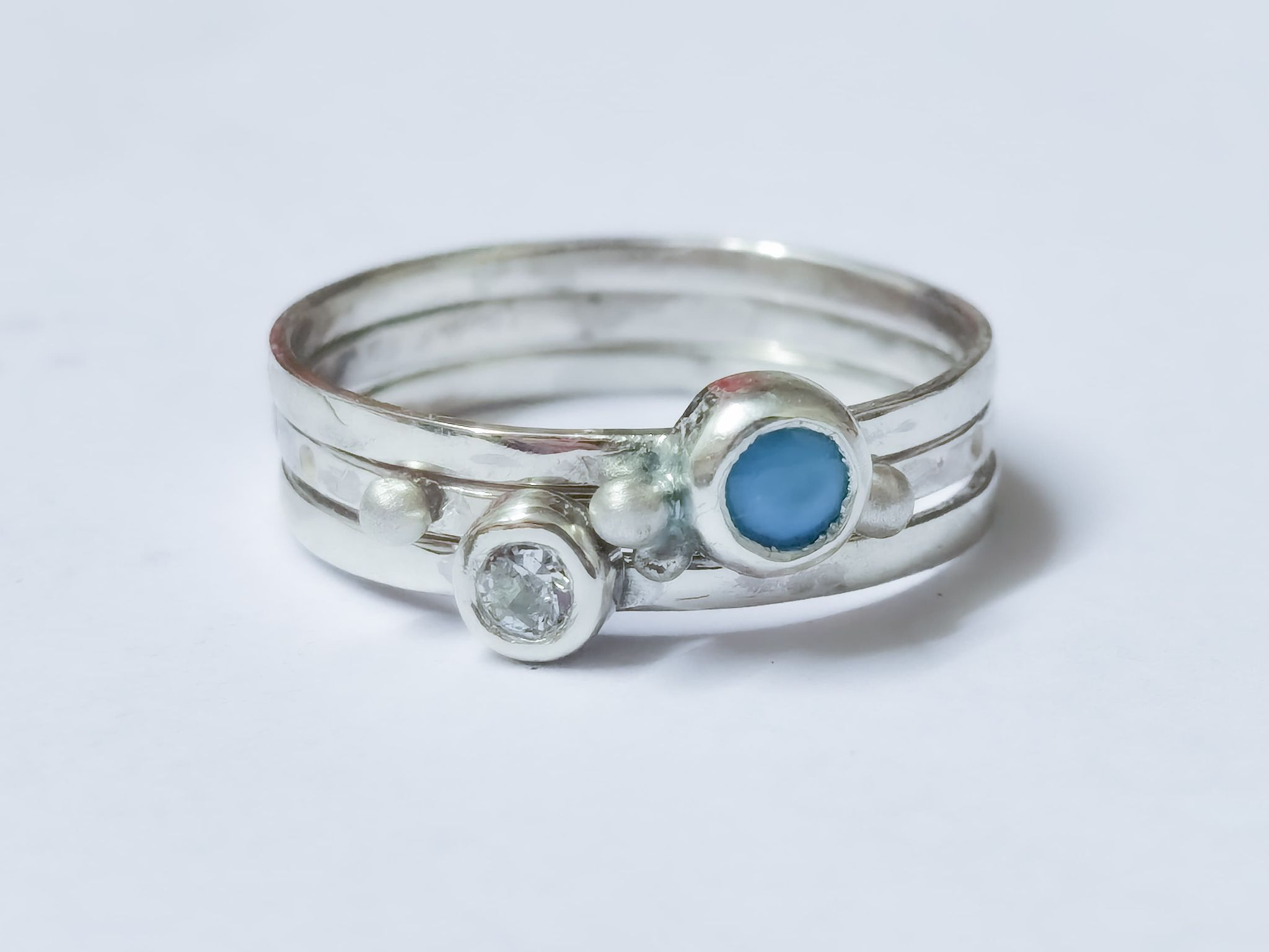 birthstone stacking commission